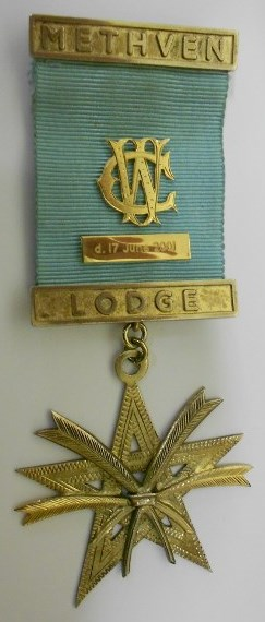 VW Bro. WJ Currie Secretary's Memorial Jewel (37yrs Service)