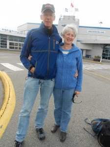 Ian Herron & Wife Jean at BC Ferry Terminal