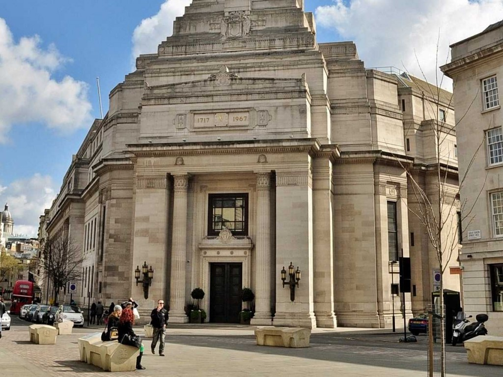 UGLE Main Entrance